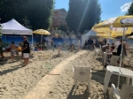 RIVOLI - «Rivoli Beach»: aperte le due spiagge «Bagni Eugenio» e «Lounge Bollani» - immagine 1
