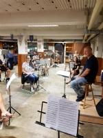 VENARIA - La banda torna a «casa»: le prove con il rispetto delle norme «anti Covid» - immagine 1