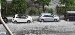 MALTEMPO - Violenta grandinata: tangenziale letteralmente paralizzata - FOTO - immagine 7