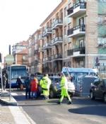 VENARIA - Ennesimo incidente allincrocio tra via Juvarra e via Palestro - immagine 1