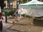 VENARIA - Artigiani volontari realizzano il presidio sanitario di sanificazione per la Croce Verde - immagine 1