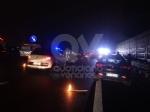 VENARIA-SAVONERA - Tamponamento fra due auto in tangenziale: due feriti, tra cui un 12enne - immagine 1