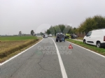 BORGARO - Scontro fra due auto in via Santa Cristina: una si ribalta, due feriti - immagine 1