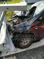 BORGARO - Terribile incidente in autostrada: due giovani borgaresi feriti in modo grave - immagine 1