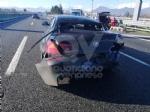 VENARIA - Incidente in tangenziale: due auto coinvolte e cinque feriti - immagine 1