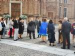 VENARIA-BORGARO - Nella chiesa di SantUberto si è sposata Cristina Chiabotto - immagine 1
