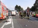 TRAGEDIA SULLA DIRETTISSIMA - Scontro tra due auto davanti alla Tamoil: morto un uomo di Fiano - FOTO - immagine 1