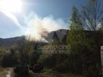 CASELETTE - Il Musiné continua a bruciare: latto è certamente doloso - immagine 1