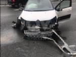 RIVOLI - Scontro fra due auto in tangenziale: disagi al traffico, ma nessun ferito - immagine 1