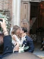 VENARIA-BORGARO - Nella chiesa di SantUberto si è sposata Cristina Chiabotto - immagine 11