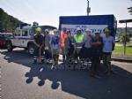 VENARIA - La Protezione Civile pulisce e mette in sicurezza il Ceronda - LE FOTO - immagine 7
