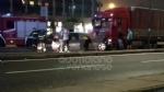 VENARIA-TORINO - Scontro tir-Bmw in via Druento: una persona rimasta ferita - immagine 1