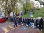 RIVOLI - Marcia per Vito Scafidi, il ministro Fioravanti: «Non si scherza sulla sicurezza nelle scuole» - immagine 1
