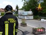 VENARIA - Camion perde il carico: situazione tornata alla normalità in via Stefanat - immagine 1