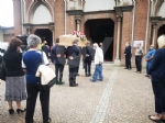 VENARIA - Tanti amici nella chiesa di Altessano per «lultima tappa» di Giuseppe Cainero - immagine 1