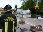 VENARIA - Camion perde il carico di sale di sodio: traffico in tilt nelle vie Stefanat e Cavallo - immagine 4
