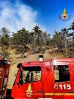 VAL DELLA TORRE - Incendio in Borgata Moschette: pompieri ancora a lavoro - immagine 1