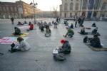 VENARIA - Anche lo Juvarra al flash mob in piazza Castello per il diritto allo studio in presenza - immagine 1