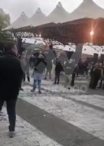 GRUGLIASCO - Notte agitata al Caat: nuove proteste degli ambulanti, un operaio cade dal muletto e si ferisce - immagine 1