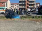 CASELLE - Spaventoso incidente allincrocio tra strada Aeroporto e via Savonarola - FOTO - immagine 1