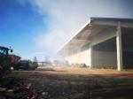 COLLEGNO - Inferno alla «Cascina Serpera»: a fuoco il fienile dellazienda agricola Bosco - immagine 1