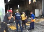 DRUENTO - Incendio al Cidiu: i carabinieri sequestrano trecento metri cubi di rifiuti - VIDEO - immagine 1