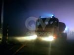 DRUENTO - Incendio ex Punto Ambiente: situazione sotto controllo dallalba - LE FOTO - immagine 1