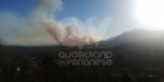 VAL DELLA TORRE - Incendio sui monti tra Brione e Val della Torre - immagine 1