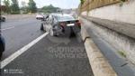 RIVOLI - Paura in tangenziale: scoppia lo pneumatico, conducente finisce in ospedale - FOTO - immagine 1