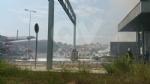 SAVONERA-COLLEGNO - Ennesimo incendio alla ex Publirec: colonna di fumo visibile dalla tangenziale - immagine 2