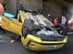 COLLEGNO - Incidente in tangenziale: tre veicoli coinvolti, unauto ribaltata e quattro feriti - immagine 1