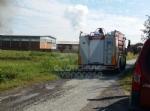 BORGARO-VILLARETTO - Azienda agricola in fiamme: bruciate 400 rotoballe di fieno - immagine 1