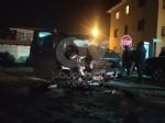 LA CASSA - Scontro tra furgone e auto in via Avigliana: cinque i feriti - immagine 1