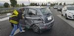 RIVOLI - Incidente allinterscambio: una persona rimasta ferita - immagine 1
