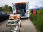 ROBASSOMERO-DRUENTO - Auto si ribalta lungo la Direttissima: due persone ferite - FOTO - immagine 1
