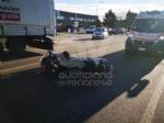 DRUENTO - Scontro fra auto e moto: centauro ferito - immagine 1