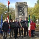 COLLEGNO - Al parco della Rimembranza le targhe ricordano la due Guerre Mondiali - immagine 1