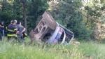 TRAGEDIA A VARISELLA - Muore ribaltandosi con lescavatore in un campo - FOTO - immagine 3
