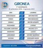 CALCIO SERIE D - Borgaro Nobis nel girone A: ecco il calendario del campionato - immagine 1