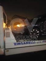 RIVOLI-VENARIA - Tir urta una macchina in tangenziale e fugge via: ora è caccia al pirata - immagine 1