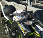 RIVOLI - Perde il controllo della moto e cade a terra lungo la tangenziale: centauro ferito - immagine 1
