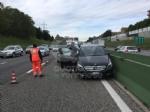 COLLEGNO - Incidente stradale sulla tangenziale nord di Torino: tre feriti in ospedale - FOTO - immagine 1