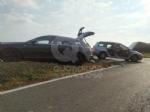 PIANEZZA - Scontro fra due auto in via La Cassa: due persone ferite - immagine 1