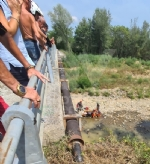DRUENTO - Tenta il suicidio gettandosi dal ponte sulla Ceronda: ricoverato in ospedale FOTO - immagine 2
