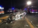 DRUENTO-VENARIA - Terribile incidente sulla Sp1 della Mandria: due ragazzi feriti - FOTO - immagine 2