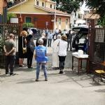COLLEGNO - Lacrime e tanta commozione ai funerali del piccolo Riccardo Celoria - FOTO - immagine 2