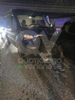 VENARIA - Tamponamento in tangenziale tra unauto e tre furgoni: una donna ferita - FOTO - immagine 2