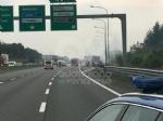 VENARIA-BORGARO - Il motore del tir prende fuoco: caos in tangenziale - immagine 2