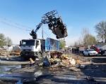 TORINO-BORGARO - Controlli al campo nomadi: sequestrato rame e abbattute delle baracche - immagine 3