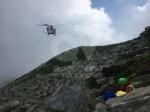 GRUGLIASCO - Escursionista cade rovinosamente per 40 metri: salvato  dal Soccorso Alpino - immagine 2